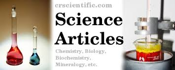 cr scientific articles experiments in chemistry mineralogy  science teaching resources experiments in chemistry biochemistry mineralogy etc