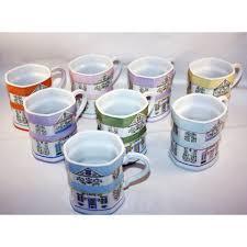 Favorite add to lenox 1999. Lenox Village Set Of 8 Coffee Mugs Lenox Village Mugs Coffee Mugs