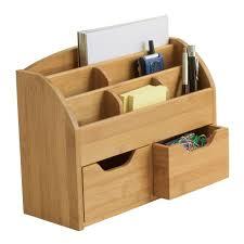diy wood desk organizer
