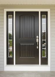 elegant front entry doors. Elegant Home With Entry Door And Sidelights Opal Provia Heritage Doors Pictures Front Painted Black For Best Green Western Decor Linon