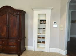 bookshelf door closed