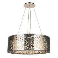 aramis 10 light polished chrome and clear crystals oval pendant chandelier