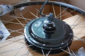 my 500 watt rear wheel from ebikekit