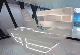 futuristic furniture design. kitchen furniture design in tron legacy inspiration for home designing futuristic interiors
