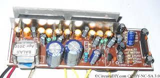 simple la4440 amplifier circuit diagram