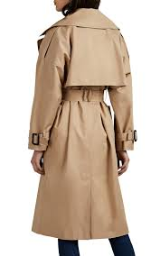 New Designer Coats The Loom Cotton Belted Double Breasted Trench Coat Barneys