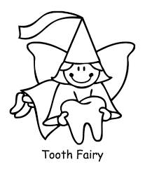 Small Picture Coloring Pages for Tooth Fairy Kindergarten Pinterest Tooth