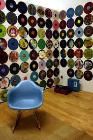 record decor record wall art record room
