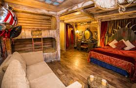 Pirate Bedroom Alton Towers Resort Press Centre Image Gallery