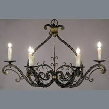old iron chandelier what is a wrought iron