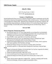 Professional Summary For Resume