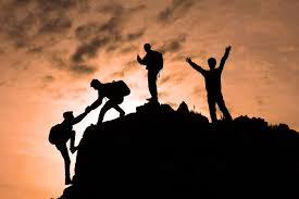 Image result for mountain climbing team