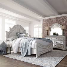 Magnolia Manor Antique White Panel Bedroom Set by Liberty Furniture ...