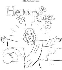 Resurrection Coloring Pages Free Easter Coloring Sheet Bible