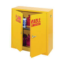 Yellow Flammable Cabinet Sandusky Lee Compact Flammable Safety Cabinet 43inw X 18ind X