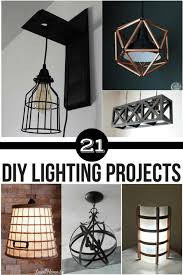lighting diy. Collage Of DIY Lighting Projects Diy