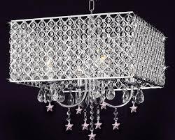 4 light chrome crystal chandelier design