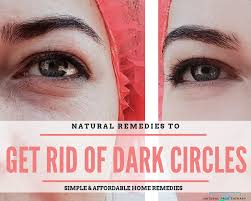 are tired looking eyes aging your face here s a natural remedy to remove dark