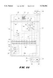 patent us5738496 interchangeable plug in circuit completion patent drawing
