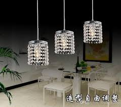 pendant lighting crystal. Catchy Crystal Pendant Lighting 3 Led Lamps Hanging Modern I