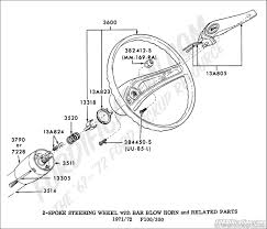 Ford truck technical drawings and schematics section i with bolt pattern for s10 and steeringwheel 7172