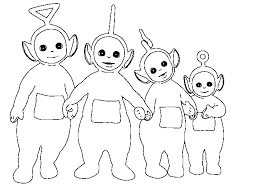 Small Picture Teletubbies Coloring Page 2146 700500 Coloring Books