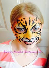 philadelphia kids birthday party face painting tiger face painting wilmington delaware