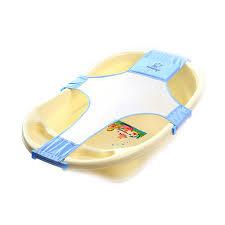 newborn baby bath seat support net bathtub sling