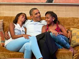 Image result for president obama and family