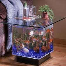furniture for fish tank. the midwest tropical aqua end table aquarium is a unique and modern way to display your favorite fish this 15 gallon will add beauty dcor furniture for tank u
