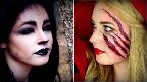 little red riding hood the wolf makeup tutorials