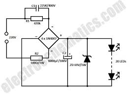 white led flood lights circuit white led flood lamp circuit schematic