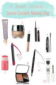 tuesday ten what s in my makeup bag