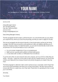 How To Write A Cover Letter For Free How To Write A Great Cover Letter Step By Step Resume Genius