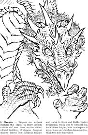 1000 Images About Adult Coloring Pages On Pinterest Dover Dragon