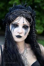 creepy all at the same time makeup idea paired with possessed style fx contacts pin 350717889705707881