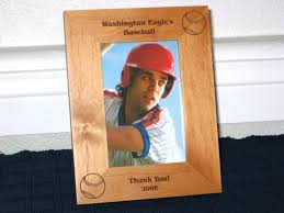 baseball picture frame personalized frame laser engraved large base