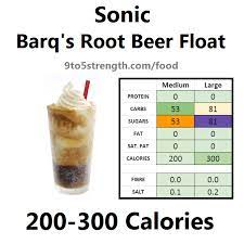how many calories in sonic