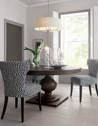 large round kitchen table sets simple and clean design in this dining room makes the vibrant