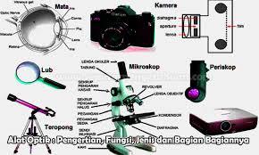 Bila fokus lensa okuler 10 cm dan jarak antara lensa objektif dan lensa okuler 14 cm, maka hitunglah perbesaran mikroskop total dan perbesaran mikroskop bila mata berakomodasi maksimum! Alat Optik Pengertian Fungsi Jenis Dan Bagian Bagi