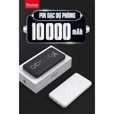 Pin sạc dự phòng chính hãng Yoobao 10000 mAh P10T- 2 cổng USB- Hỗ trợ sạc 2  máy- Có đèn LED báo dung lượng giá cạnh tranh