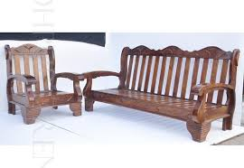 Living Room Furniture Wooden Sofa Set Designs Indian Style Hall