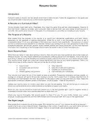 Sample Resume Skills Michael Resume