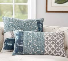 Malibu Patchwork Pillow Covers | Pottery Barn & Malibu Patchwork Pillow Covers Adamdwight.com