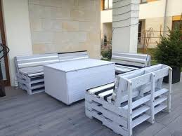 furniture ideas with pallets. Furniture From Pallets Renovation Terrace Ideas Small Grey Painted Pallet . With