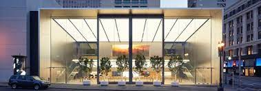 Apple retail store San Francicso: all-glass design - seele