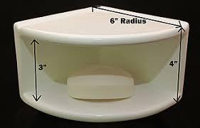 Porcelain shower shelf Ceramic Tile Double Corner Caddy Measure The Family Handyman Shower Shelf Shampoo Niche Recessed Showering Shelves Niches