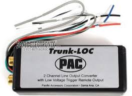 pac trunk loc trunkloc 2 channel loc w trigger product pac trunk loc