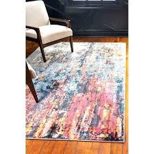orange and blue area rug orange and blue area rug downtown orange blue area rug orange