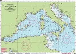 Imray Charts Mediterranean M10 Western Mediterranean Imray Chart